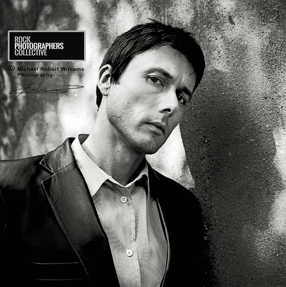 INSIDE INFO: 007: Our photographers give you the inside information behind the shoot. BRETT ANDERSON OF SUEDE BY MICHAEL ROBERT WILLIAMS