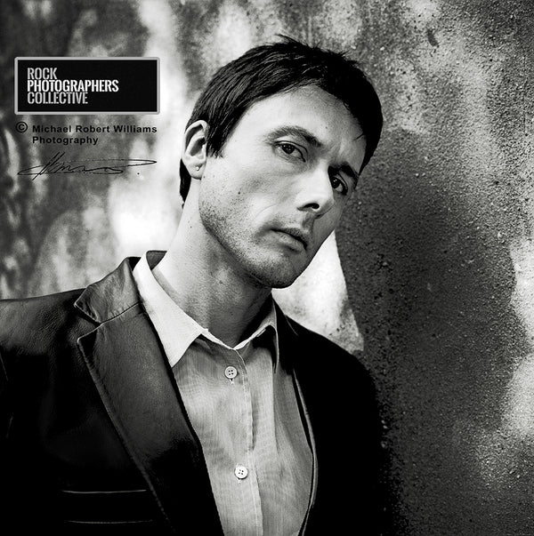 BRETT ANDERSON OF SUEDE BY MICHAEL ROBERT WILLIAMS