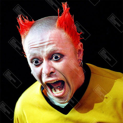 The Prodigy live - Keith Flint close up Hoodie