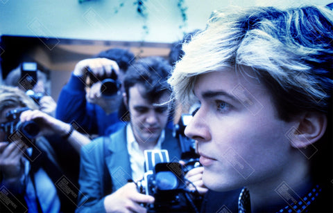 David Sylvian, Japan, 1984, profile (AJB) Long Sleeve