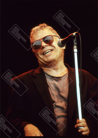 Ian Dury live at mic AP Art Print