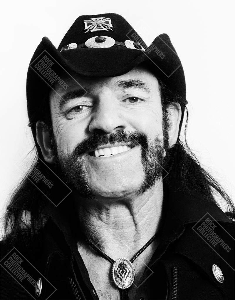 Lemmy, Motorhead, headshot b&w portrait (JB) Tote Bag