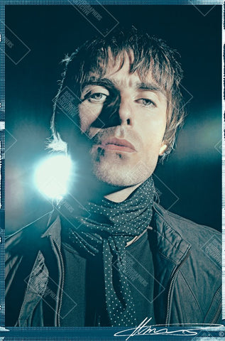Liam Gallagher, Oasis, 2008, (1) MRW Women's Long Sleeve