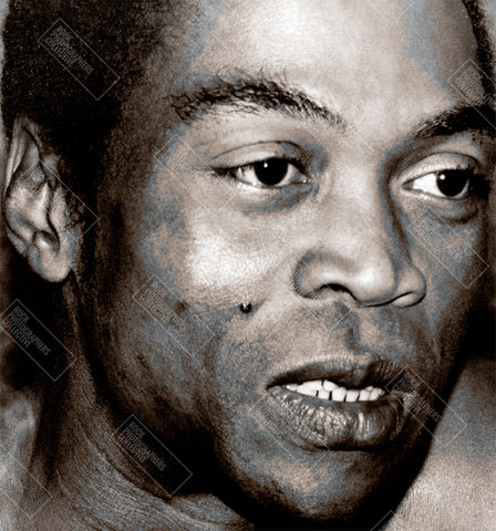 Fela Kuti (2), West London, 1980's, TB Mug