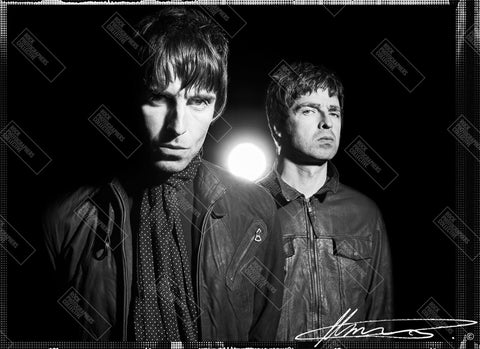 Liam & Noel Gallagher, Oasis, 2008, MRW Long Sleeve