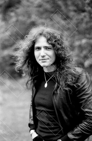 David Coverdale b&w location portrait AP Art Print