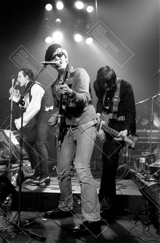 The Damned, Captain Sensible, live, 1981, AP Art Print