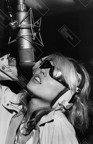 Debbie Harry Blondie Recording Men's T-Shirt