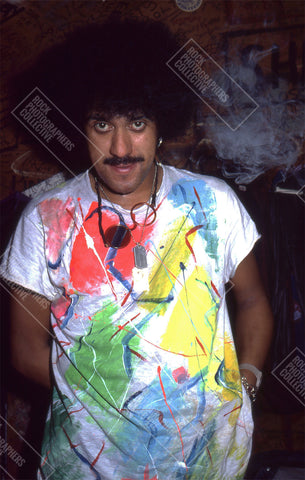 Phil Lynott - Thin Lizzy Portrait 1984 Art Print