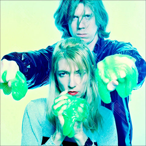 Kim Gordon & Thurston Moore, Sonic Youth Women's Long Sleeve.