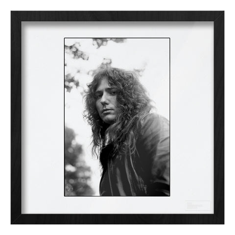 David Coverdale b&w close-up portrait AP Art Print