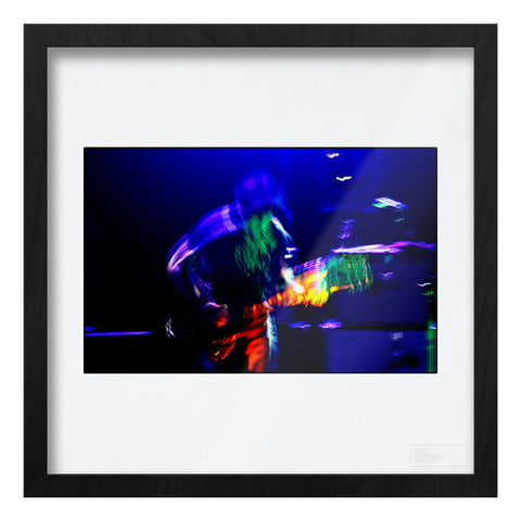 Ryan Adams live - motion blur Art Print