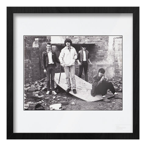Echo and the Bunnymen Birmingham 1980 Art Print