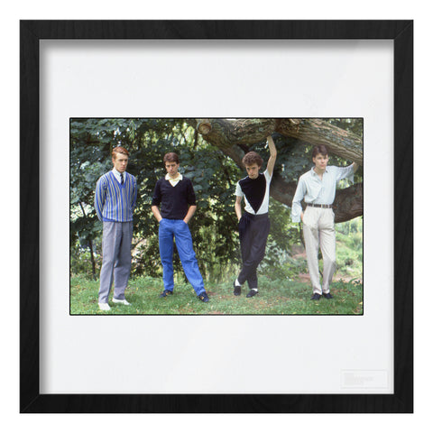 The Skids group location shot AP Art Print