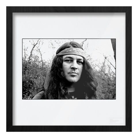 Ian Gillan location portrait AP Art Print