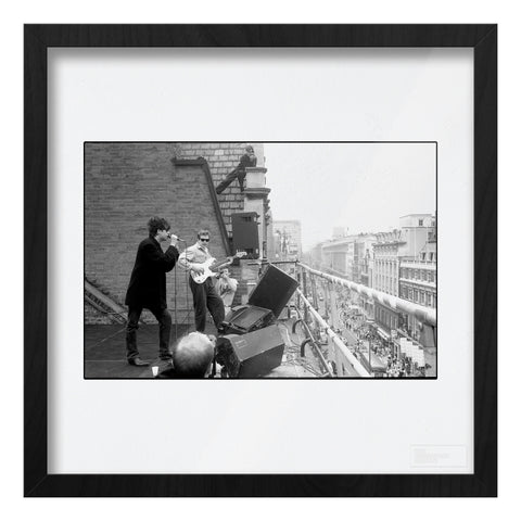 Echo/Bunnymen roof of HMV 1980 AP Art Print