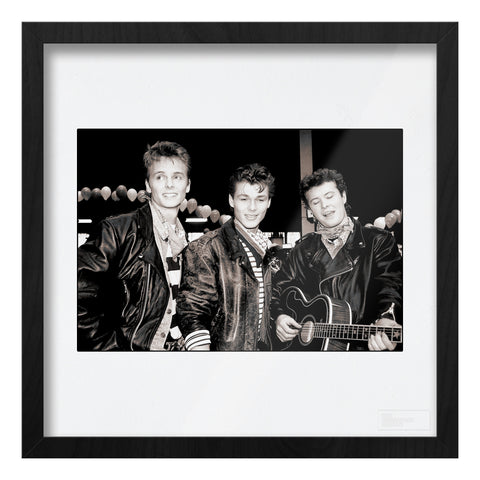 A-ha, band portrait, 1988, AP Art Print