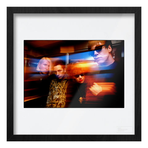The Cramps image with photographer's effects Art Print