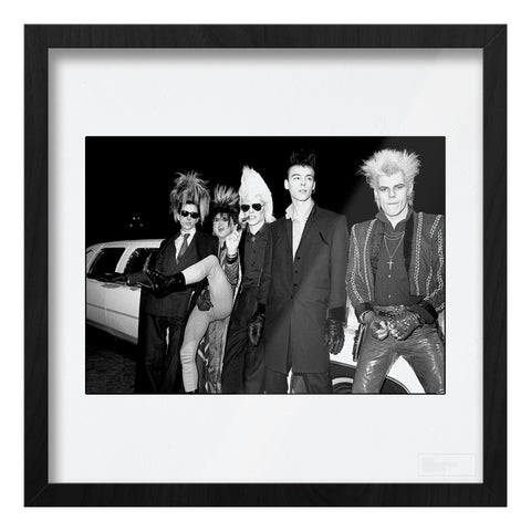 Sigue Sigue Sputnik b&w location shot AP Art Print