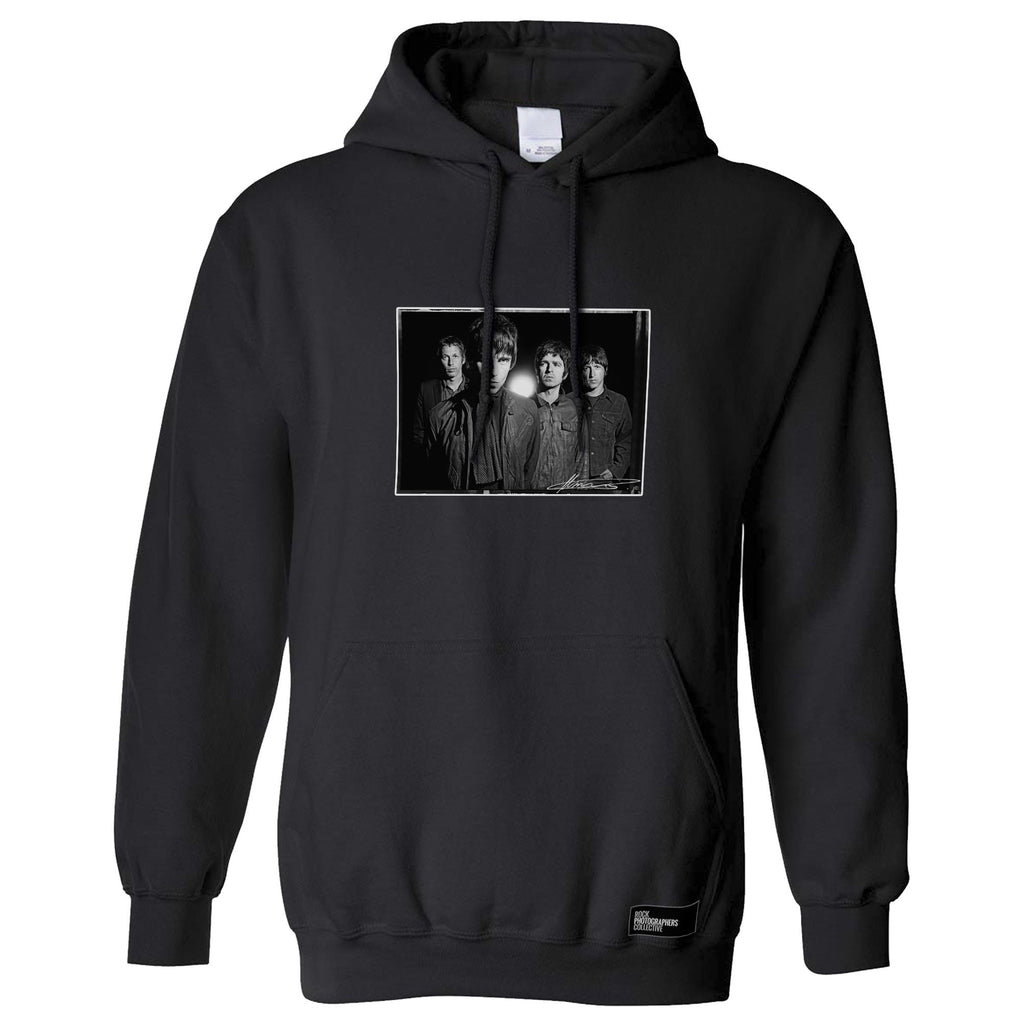 Oasis, studio shoot, London, 2008, MRW Hoodie