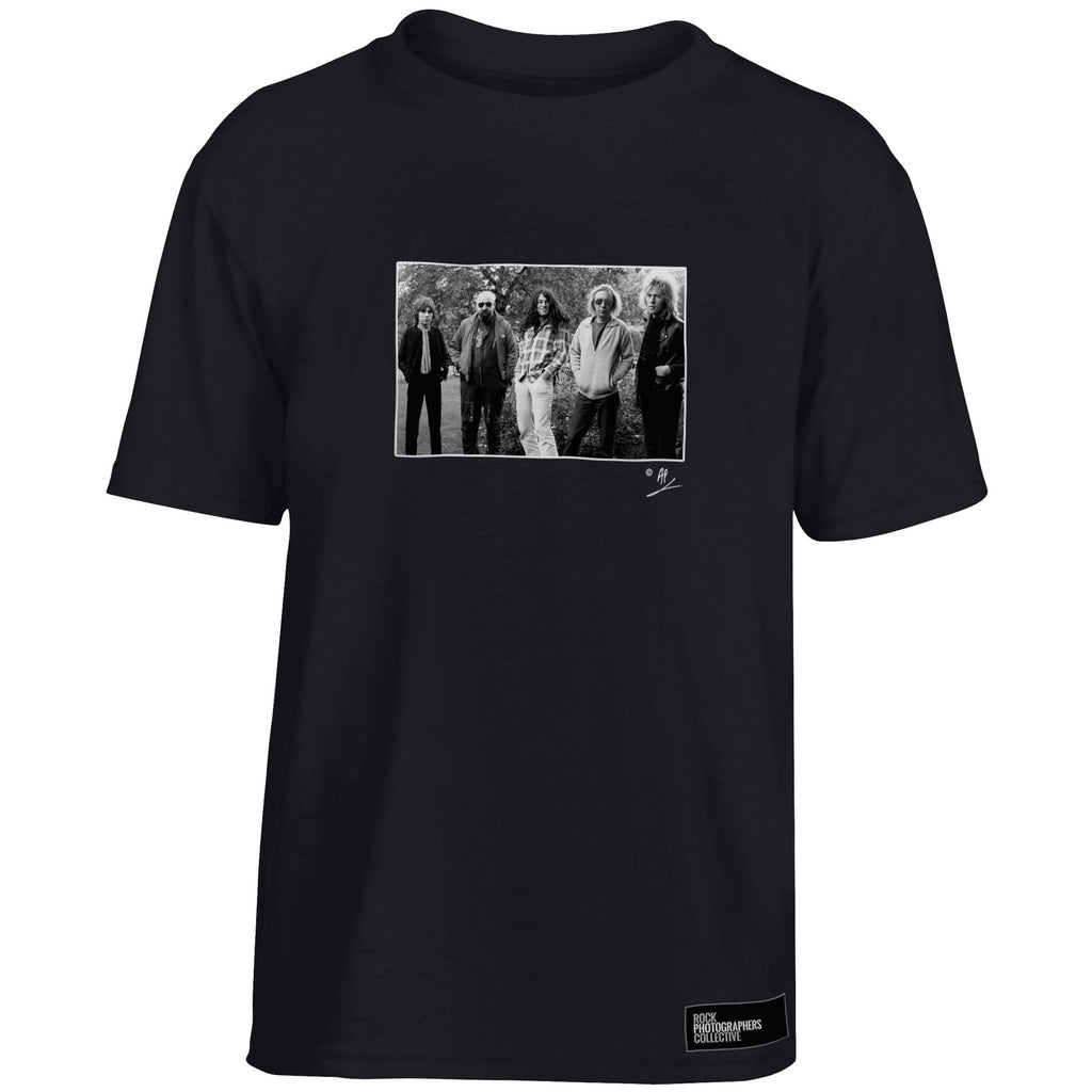 Gillan full band location portrait AP Kids' T-Shirt