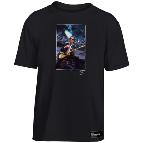 Keith Richards of The Rolling Stones, live Kids' T-Shirt