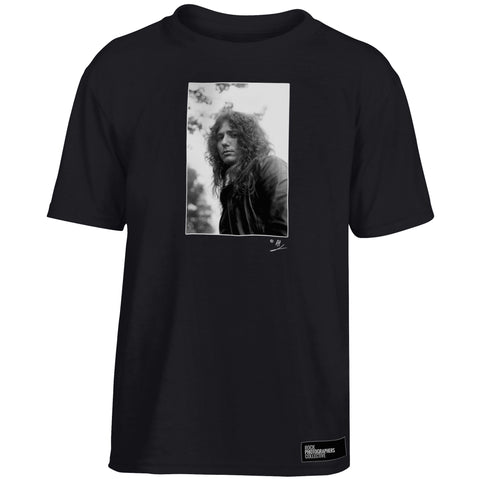 David Coverdale b&w close-up portrait AP Kids' T-Shirt