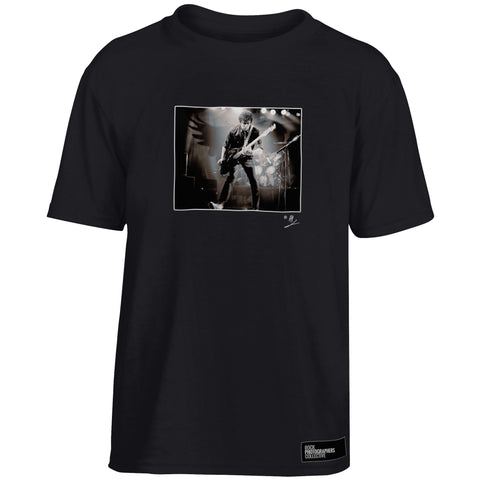The Stranglers, JJ Burnel, live, 1980, AP Kids' T-Shirt