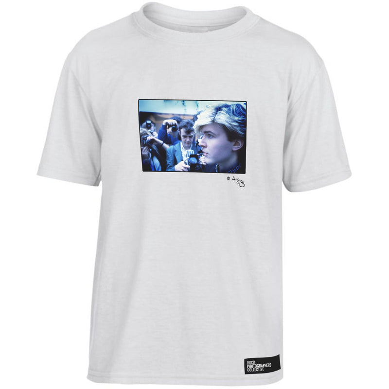 David Sylvian Japan 1984 profile (AJB) Kids' T-Shirt White