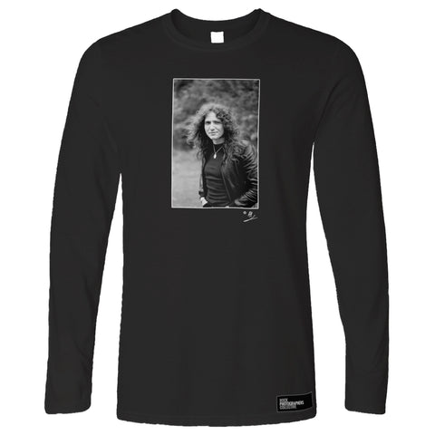 David Coverdale b&w location portrait AP Long Sleeve