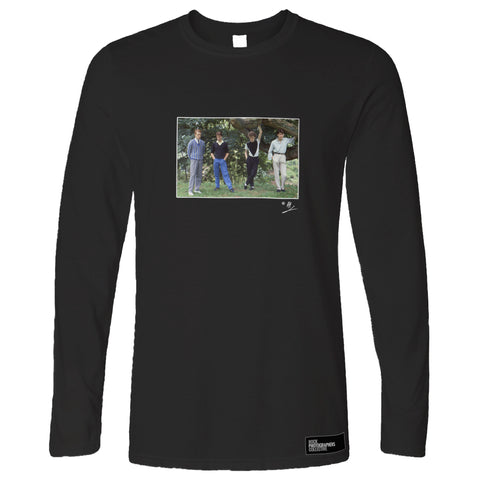 The Skids group location shot AP Long Sleeve