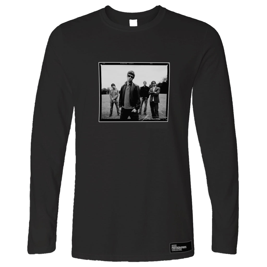 Oasis, location shoot, London, 2005, MRW Long Sleeve