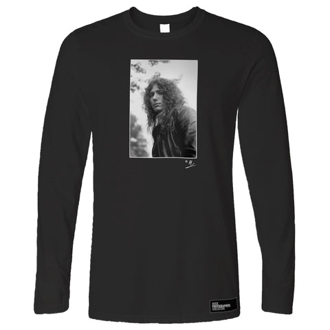David Coverdale b&w close-up portrait AP Long Sleeve