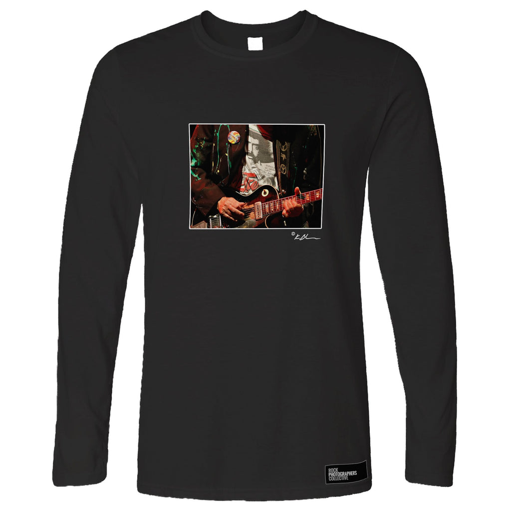 Neil Young live close-up guitar Long Sleeve
