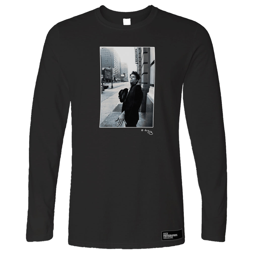 Tom Waits, New York, US, 1986, TB Long Sleeve