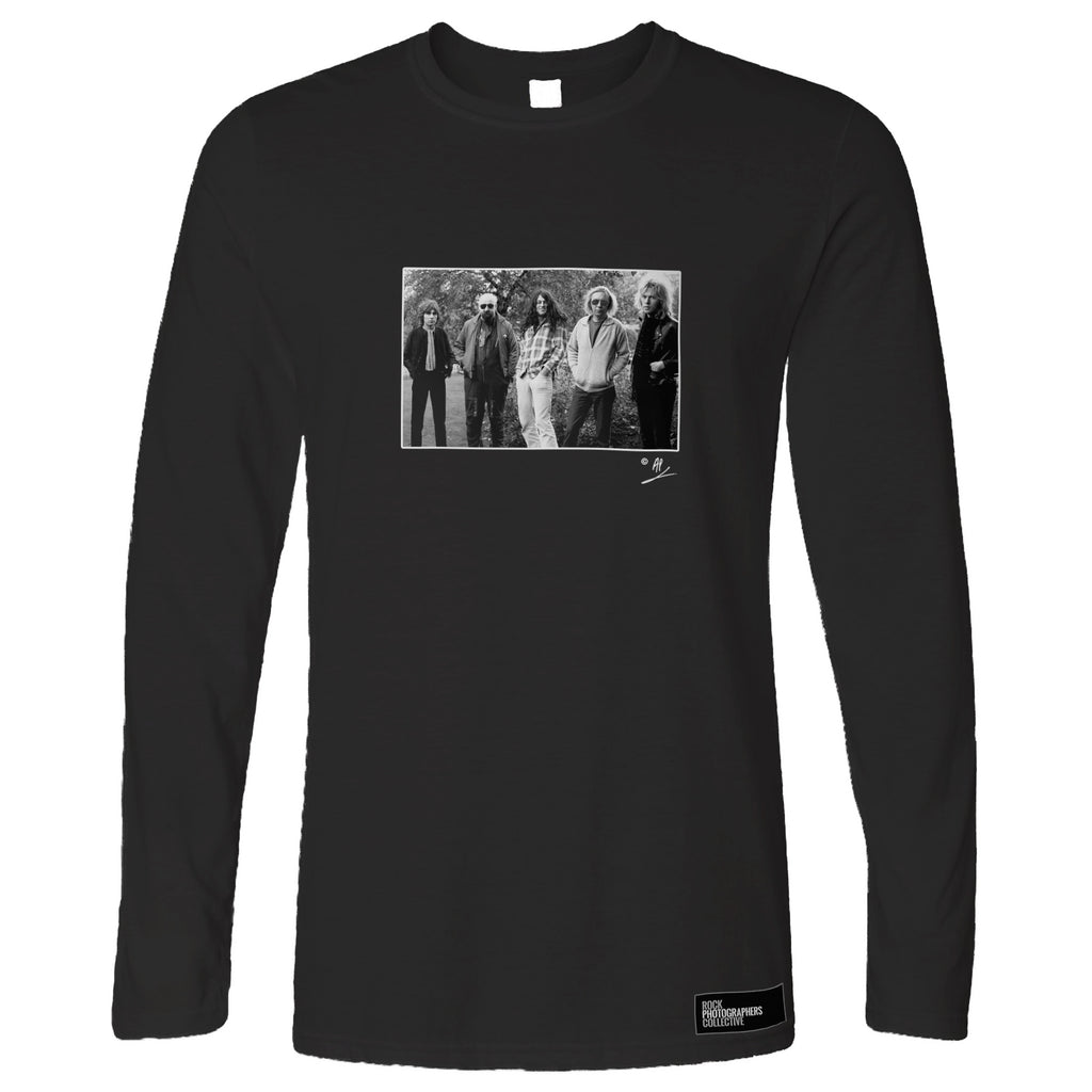 Gillan full band location portrait AP Long Sleeve