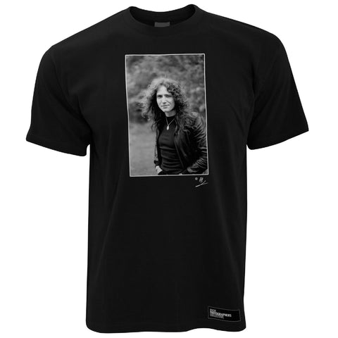 David Coverdale b&w location portrait AP Men's T-Shirt