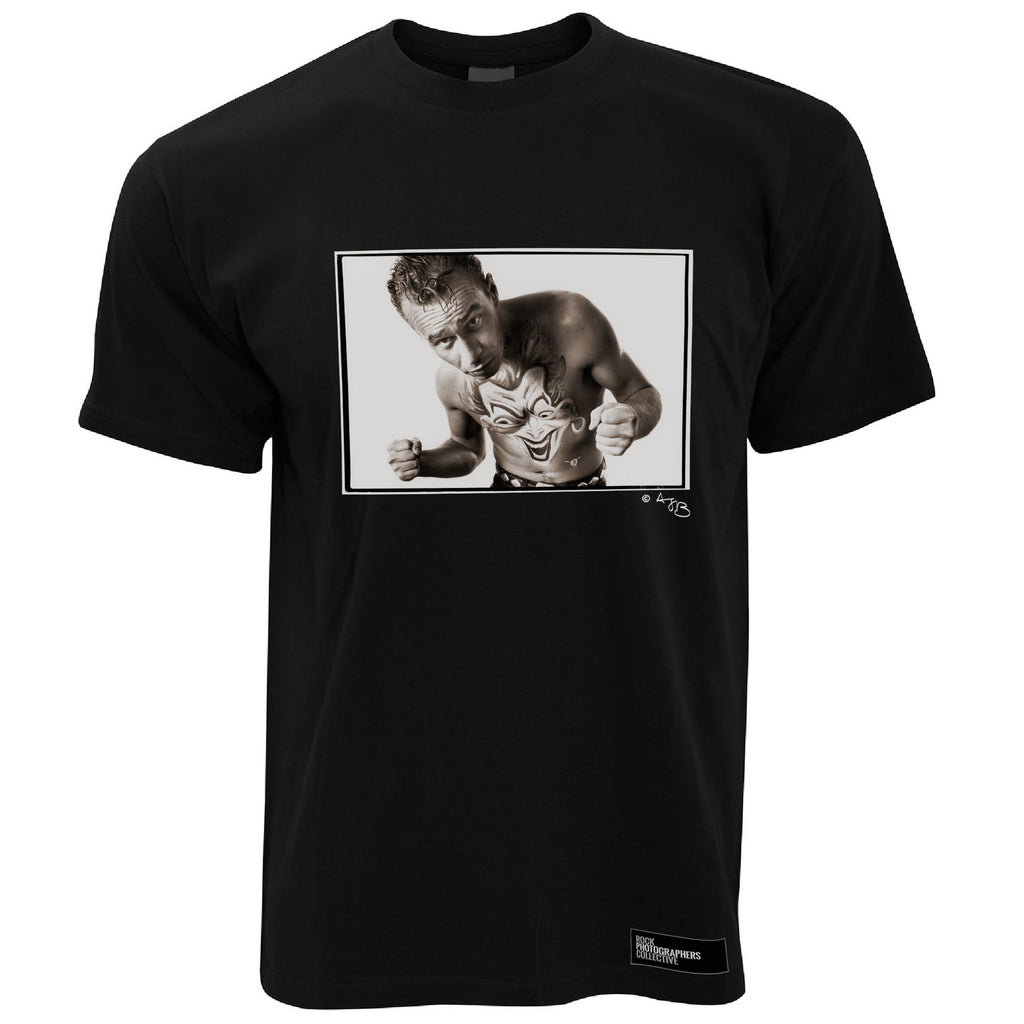 Matt Johnson Men's T-Shirt Portrait (1), The The, Sepia