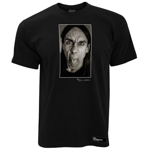 Iggy Pop, close-up, London, 1993 (SdB) Men's T-Shirt