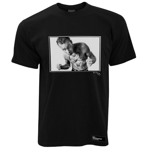 Matt Johnson Men's T-Shirt Portrait (1), The The, B&W