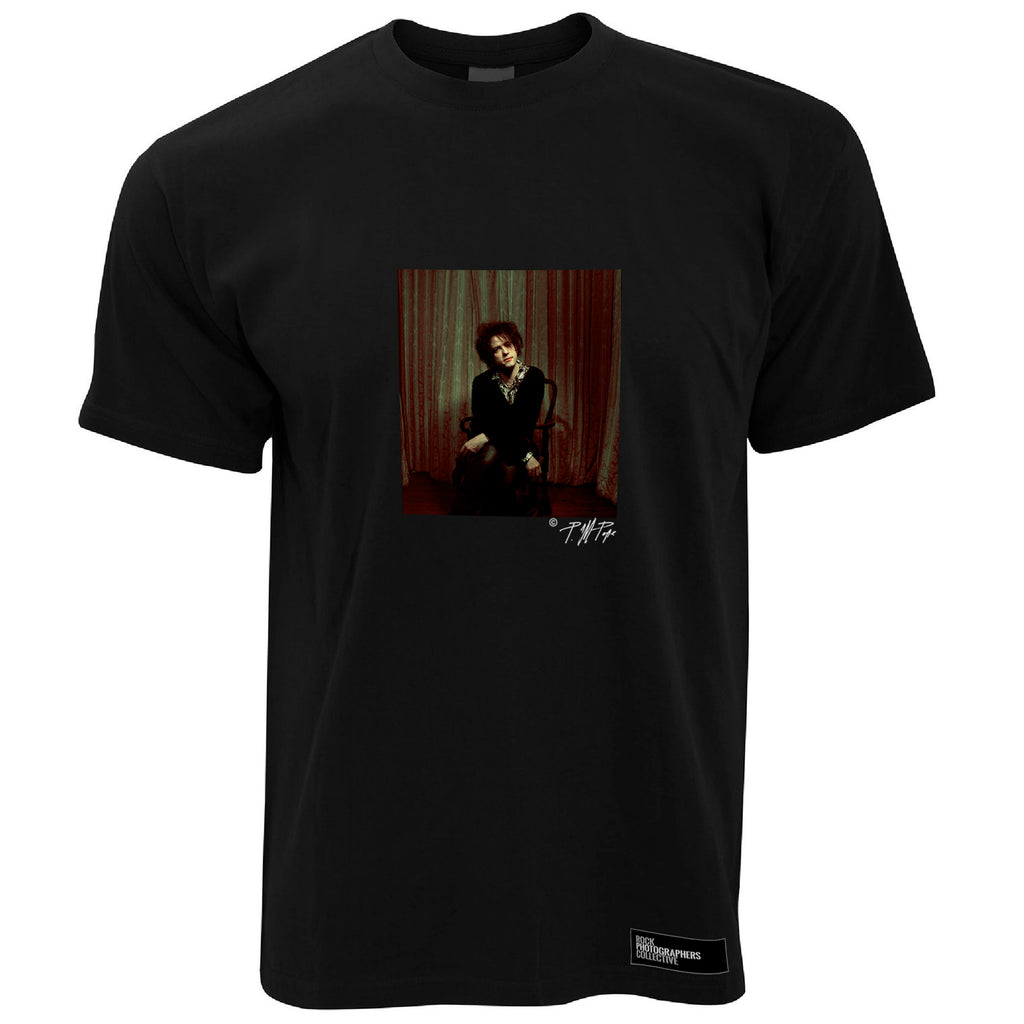 Robert Smith The Cure Men's T-Shirt Colour