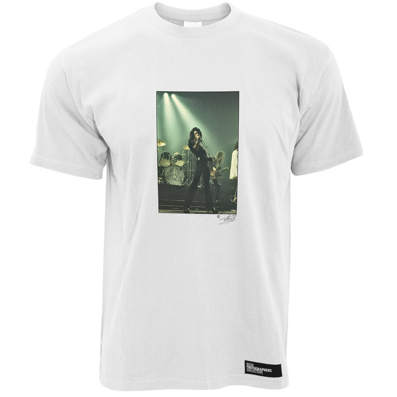 Freddie Mercury On Stage Rock Men's T-Shirt