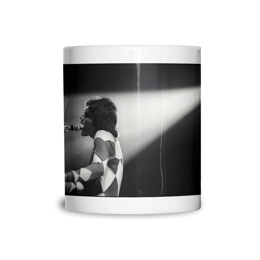 Freddie Mercury Black and White Rock Mug