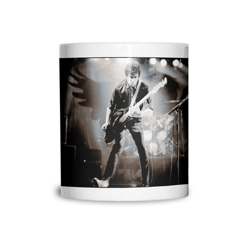 The Stranglers, JJ Burnel, live, 1980, AP Mug
