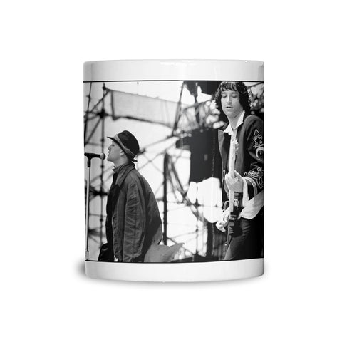 Michael Stipe and Peter Buckley REM live AP Mug