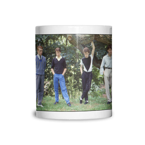 The Skids group location shot AP Mug