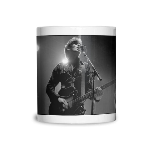 Jake Burns of SLF, Solo B&W AP (2) Mug