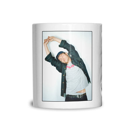 Damon Albarn, Blur, colour portrait (JB) Mug