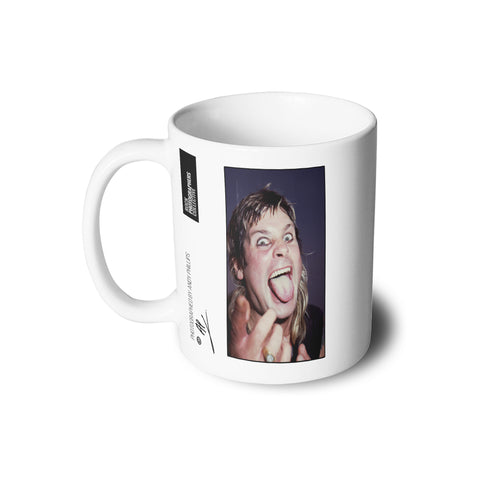 Ozzy Osbourne at Donnington 1984 Mug