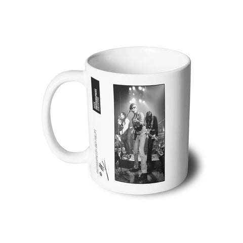 The Damned, Captain Sensible, live, 1981, AP Mug